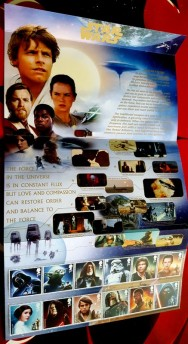 Royal Mail Star Wars stamps - The Light Side