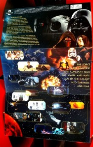 Royal Mail Star Wars stamps - The Dark Side
