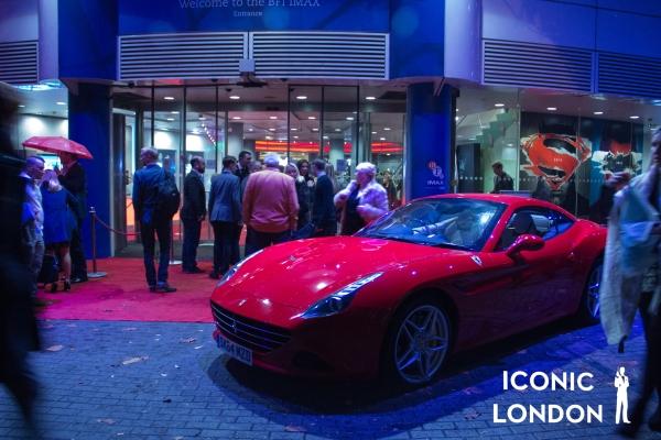 Iconic London BFI Ferrari