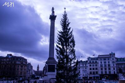 Trafalgar Square Christmas 2015