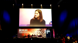 Jenna Coleman Doctor Who Festival