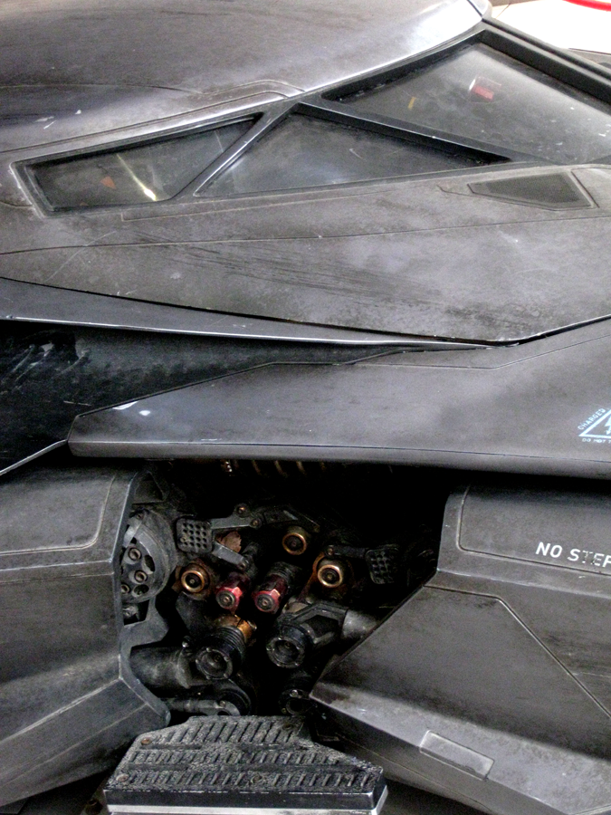 Batmobile Batman vs Superman