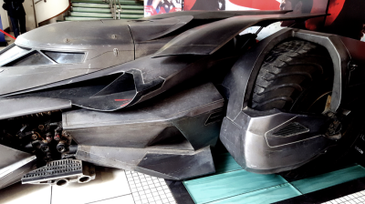 Batmobile Batman vs Superman