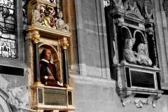 Famously interred at Holy Trinity Church