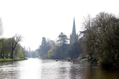Holy Trinity Church and Avon