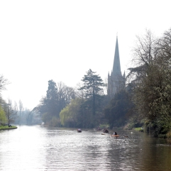Holy Trinity Church and Avon