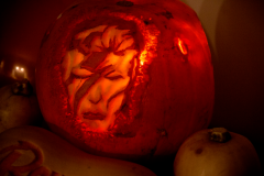 David Bowie Pumpkin Halloween 2016
