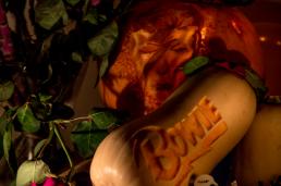 David Bowie Pumpkin Halloween 2016