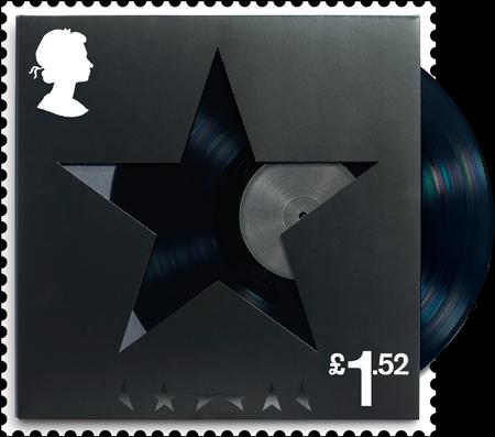 Blackstar David Bowie stamp