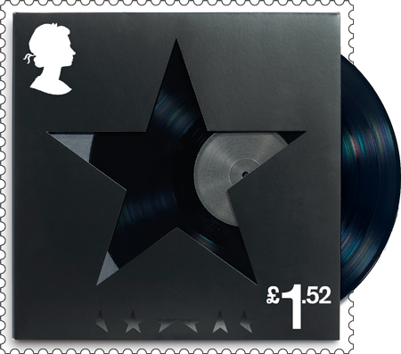 Blackstar David Bowie stamp