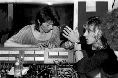 Bowie and Ronson