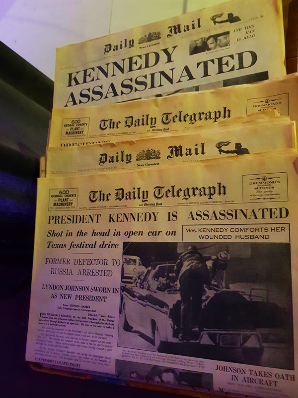 Doctor Who Experience - The News 23 November 1963