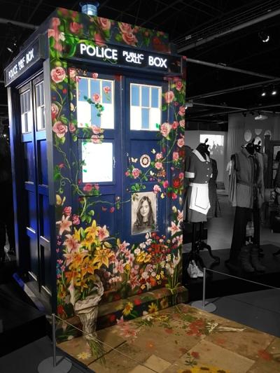 Doctor Who Experience - Clara memorial