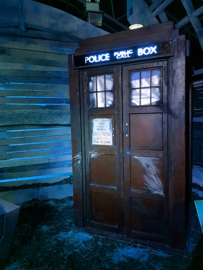 Doctor Who Experience - War Doctor TARDIS