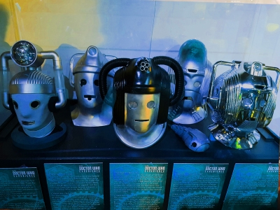 Doctor Who Experience - Cyber heads