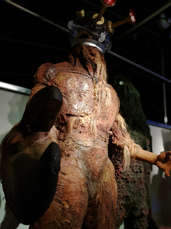 Doctor Who Experience - Morbius claw