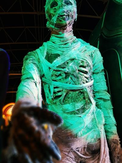 Doctor Who Experience - Mummy shake