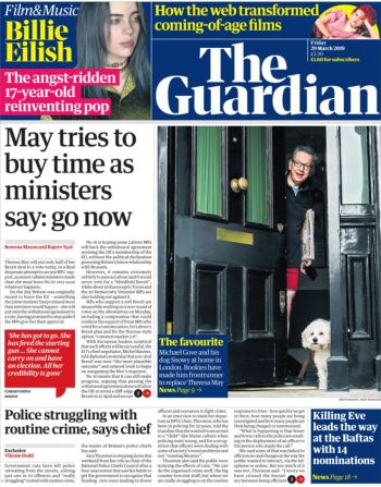 The Guardian, 29 March 2019