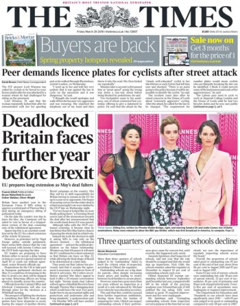 The Times, 29 March 2019