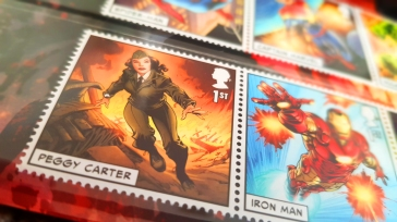 Peggy Carter Royal Mail Marvel