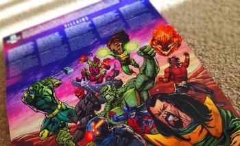 Marvel Villains Unite Royal Mail Marvel