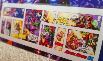Marvel Stronger Together! Royal Mail Marvel