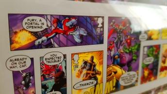 Captain Britain Thanos Royal Mail Marvel