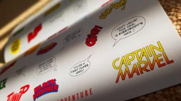 Crash Royal Mail Marvel