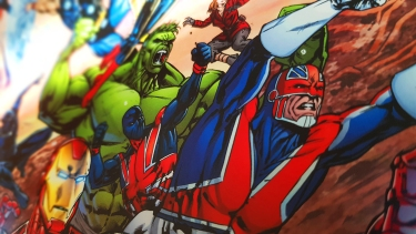 Super Heroes Royal Mail Marvel