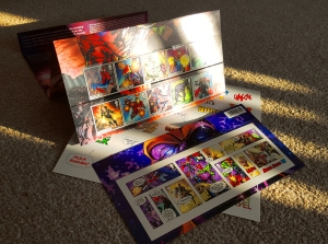Marvel Stamps Royal Mail Marvel